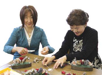 江口薫先生と國府文恵先生